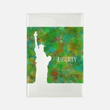 Liberty Rectangle Magnet