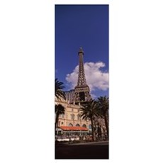 Low angle view of a hotel Replica Eiffel Tower Par Poster