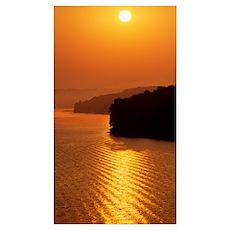 Sunrise Over Lake Tenkiller Oklahoma Poster