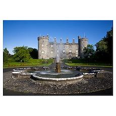 Kilkenny Castle rebuilt in the 19th Century, Kilke Poster