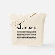 1,001 Pieces of Pi Tote Bag
