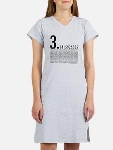 1,001 Pieces of Pi Women's Nightshirt