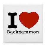 Backgammon designs Drink Coasters