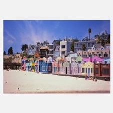 Houses On The Beach, Capitola, Santa Cruz, Califor