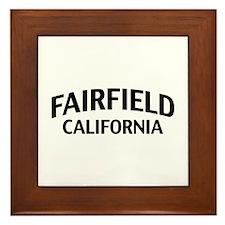 Fairfield California Framed Tile