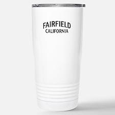 Fairfield California Travel Mug