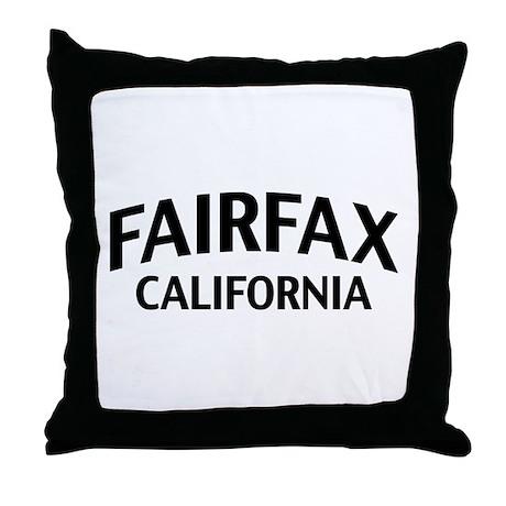 Fairfax California Throw Pillow