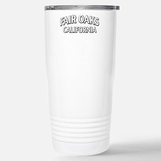 Fair Oaks California Stainless Steel Travel Mug