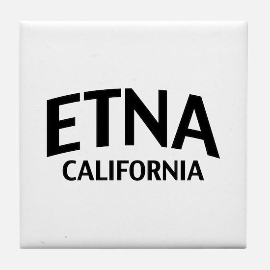 Etna California Tile Coaster
