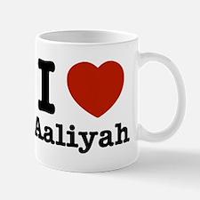 I love Aaliyah Mug