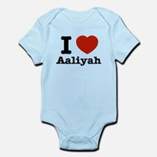 I love Aaliyah Infant Bodysuit