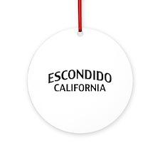 Escondido California Ornament (Round)