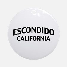 Escondido California Ornament (Round)