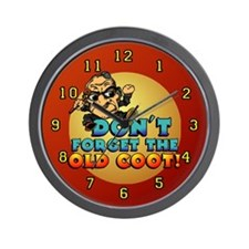 Old Coot Winery Wall Clock