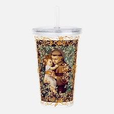 Saint Anthony Acrylic Double-wall Tumbler