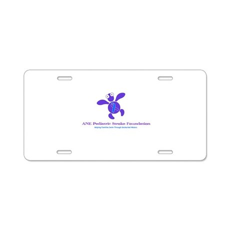 ANE Misc Items Aluminum License Plate