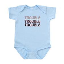 Trouble Infant Bodysuit