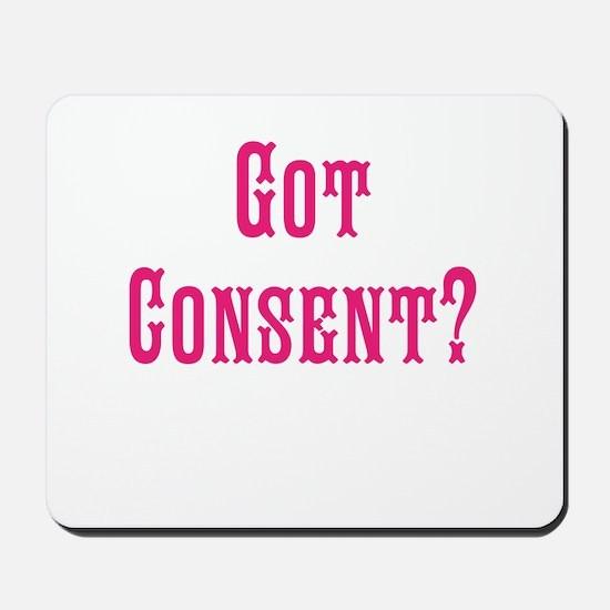 Got Consent Fun Mousepad