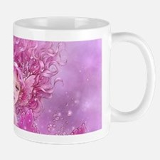 Pink Ribbon Mermaid Mug