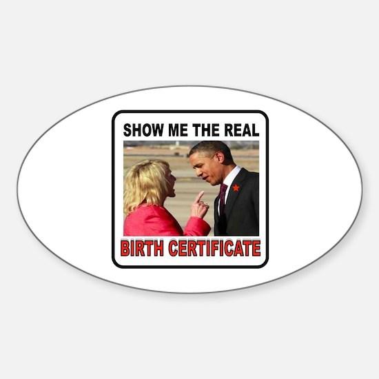 GET MY POINT? Sticker (Oval)