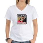 GET MY POINT? Women's V-Neck T-Shirt