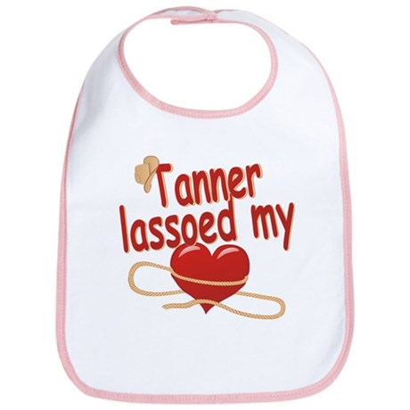 Tanner Lassoed My Heart Bib