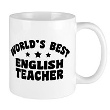 World's Best English Teacher Mug