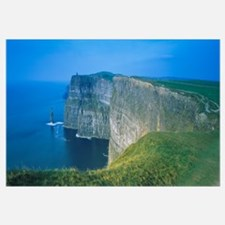 Rock formations at the coast, Cliffs Of Moher, The
