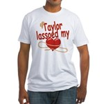 Taylor Lassoed My Heart Fitted T-Shirt