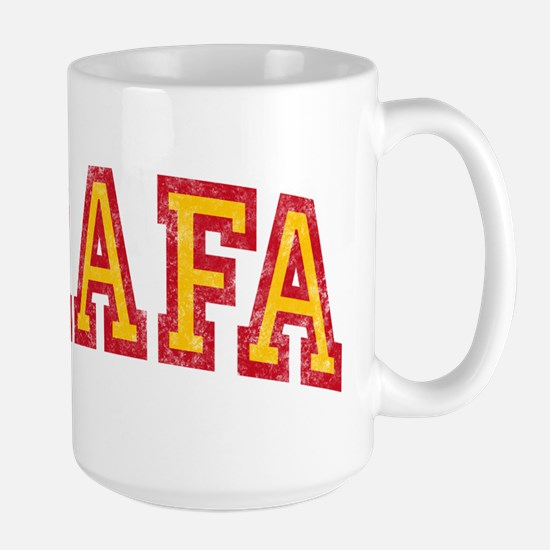 Rafa Red & Yellow Large Mug