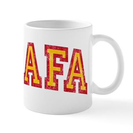 Rafa Red & Yellow Mug