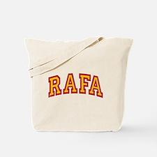 Rafa Red & Yellow Tote Bag