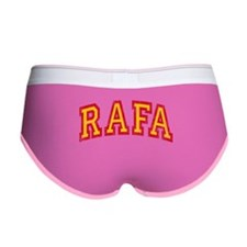 Rafa Red & Yellow Women's Boy Brief