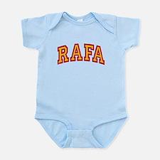 Rafa Red & Yellow Infant Bodysuit
