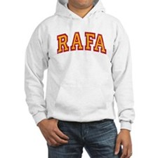 Rafa Red & Yellow Jumper Hoody