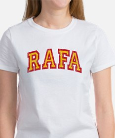 Rafa Red & Yellow Women's T-Shirt