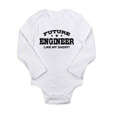 Future Engineer Long Sleeve Infant Bodysuit