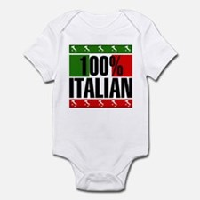 100% Percent Italian Infant Bodysuit