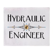 Hydraulic Engineer Line Throw Blanket