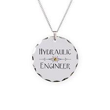 Hydraulic Engineer Line Necklace