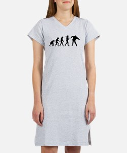 The Evolution Of Zombies Women's Nightshirt