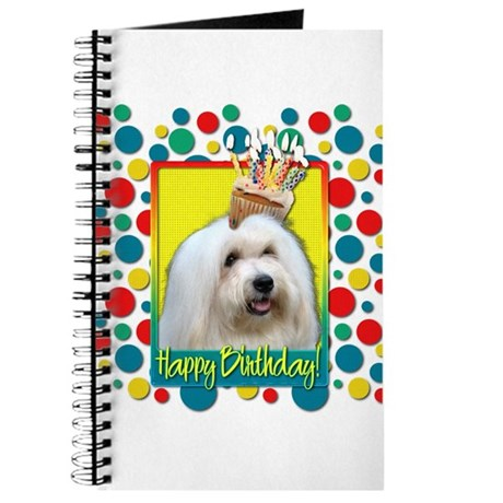 Birthday Cupcake - Coton de Tulear Journal