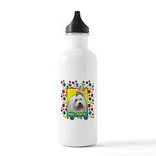 Birthday Cupcake - Coton de Tulear Water Bottle