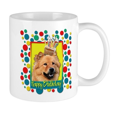 Birthday Cupcake - Chow Mug