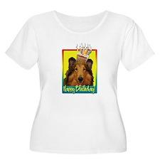 Birthday Cupcake - Collie T-Shirt