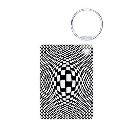 Bulge Aluminum Photo Keychain