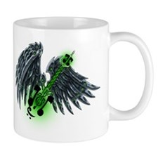 Machine Wing and Guitar Mug