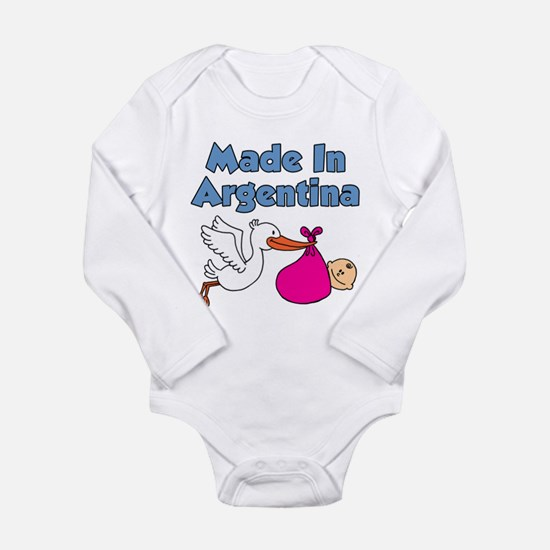 Made In Argentina Girl Baby Outfits