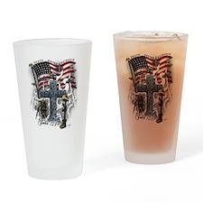 American Patriot Drinking Glass