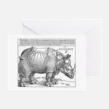 Durer Rhino Greeting Cards (Pk of 10)